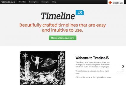 timelinejs screenshot