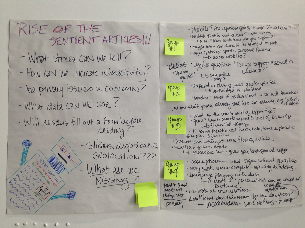 Notes and questions from the MozFest session