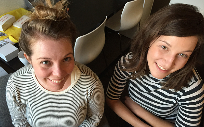 Pop Up Archive's co-founders Bailey Smith and Anne Wootton