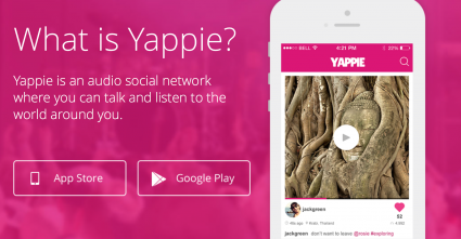 Yappie is one of a collection of social-focused audio apps.