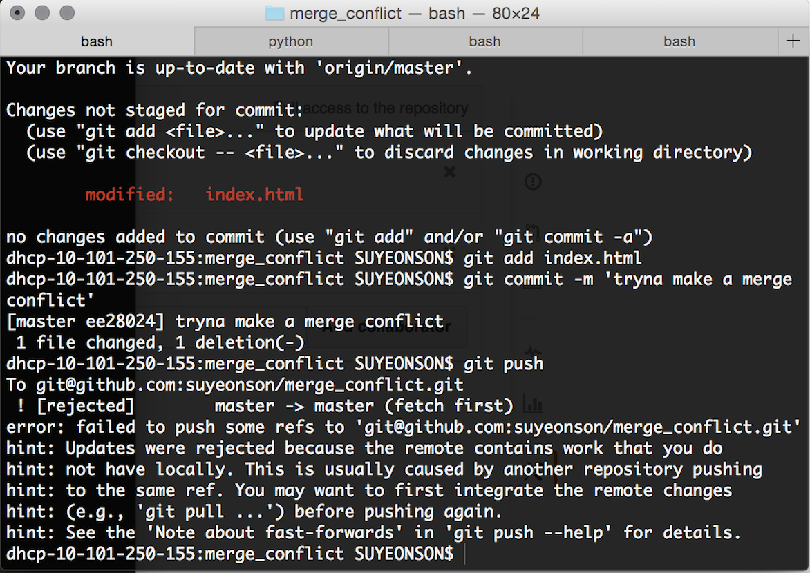 How the git mergetool solved my anxiety, fears, and most