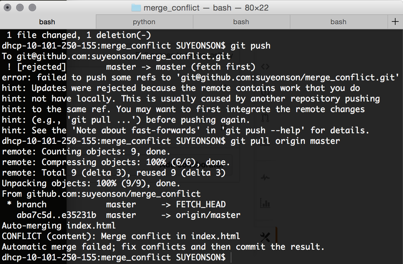 How the git mergetool solved my anxiety, fears, and most importantly
