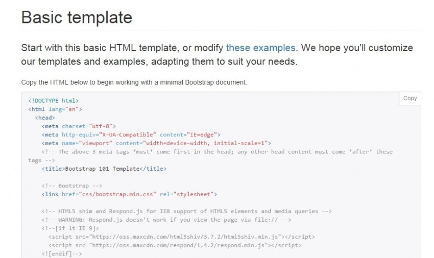 Basic Html Template | Bootstrap For Beginners Knight Lab