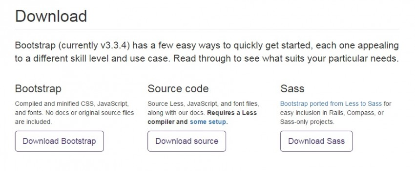 Download The Basic Bootstrap That Button On The Left To Get Started